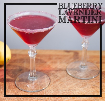 Blueberry Lavender Martini